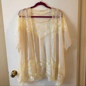 Tobi Lace Kimono